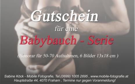 Babybauch Serie