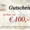 Gutschein € 100,-