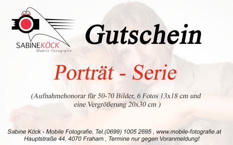 Porträt Serie